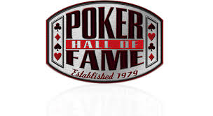 2018 Poker Hall of Fame