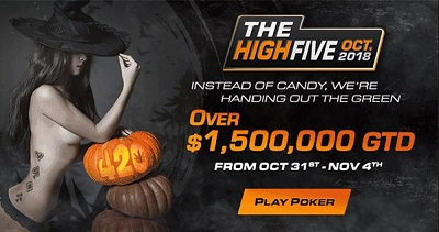 Americas Cardroom  Halloween  Special Offer