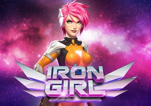 Iron Girl living within her Iron Armour