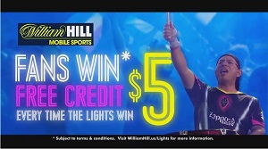 William Hill teams with Lights Football Club