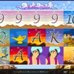 Aladdin's Loot Playscreen