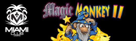 Miami Club July offer on Magic Monkey II Click to play
