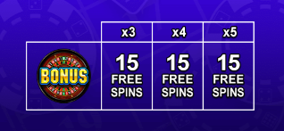 Grand Special on Vegas Triple Free Spins Symbol