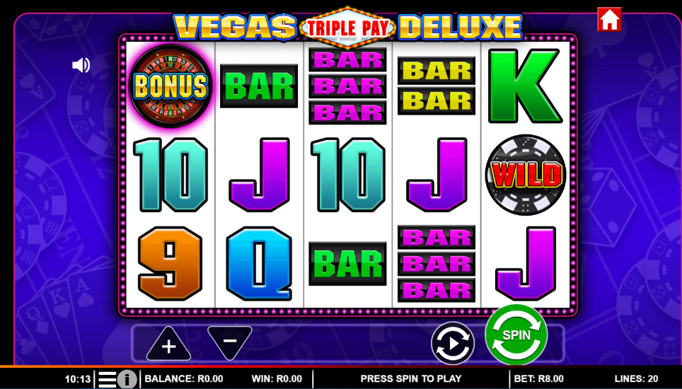 Grand Special on Vegas Triple Pay Deluxe