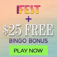 BingoFest Bonus deal for players