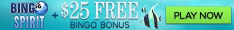 Bingo Spirit Bonus deal for players