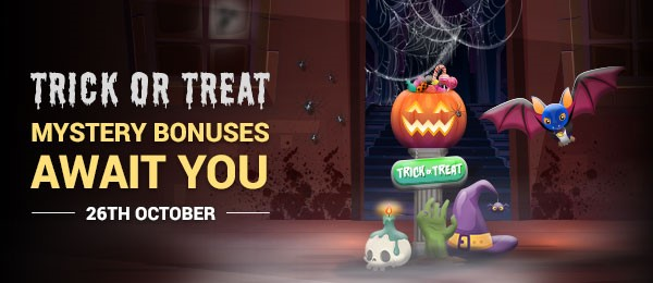 Promotion for Halloween special at Emu Casino